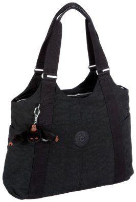 c9cc00d8a33 Kipling Womens Cicely Shoulder Bag Black K13338: Amazon.co.uk: Shoes &  Accessories