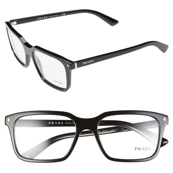 59d493f148 Women s Prada 54mm Optical Glasses ( 320) ❤ liked on Polyvore featuring  accessories