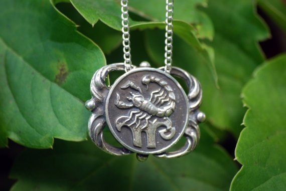 silver pendant small products scorpio zodiac sign charm jewelry wholesale in alternate sterling on medallion