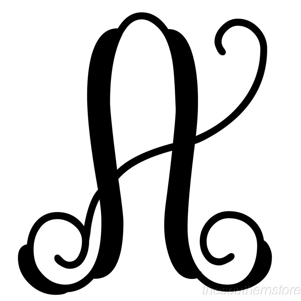 initial it 14 monogram black metal cursive script letters 18 varieties customdecor script