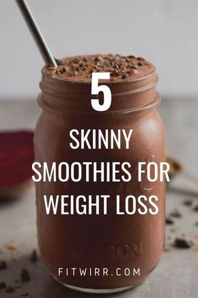 5 Best Smoothie Recipes for Weight Loss #weightloss