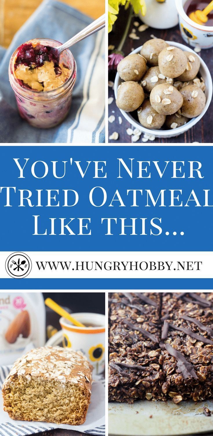 You've never tried oats like this before!  It's no secret oats are heart healthy, this roundup is the most brilliant collection of ways to eat oats you've ever seen!  #glutenfree #oatmeal #hearthealthy #oats #oatmealbowl #healthyrecipe  via @hungryhobby