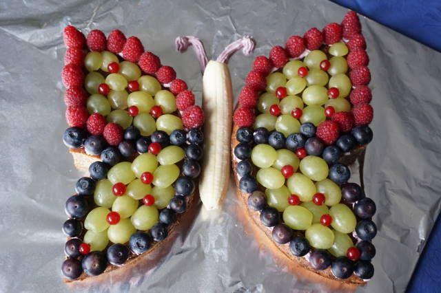 Geburtstagskuchen ohne Zucker  Schmetterlingskuchen