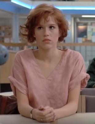 Molly Ringwald Movie Quotes. QuotesGram |Molly Ringwald Breakfast Club Hair