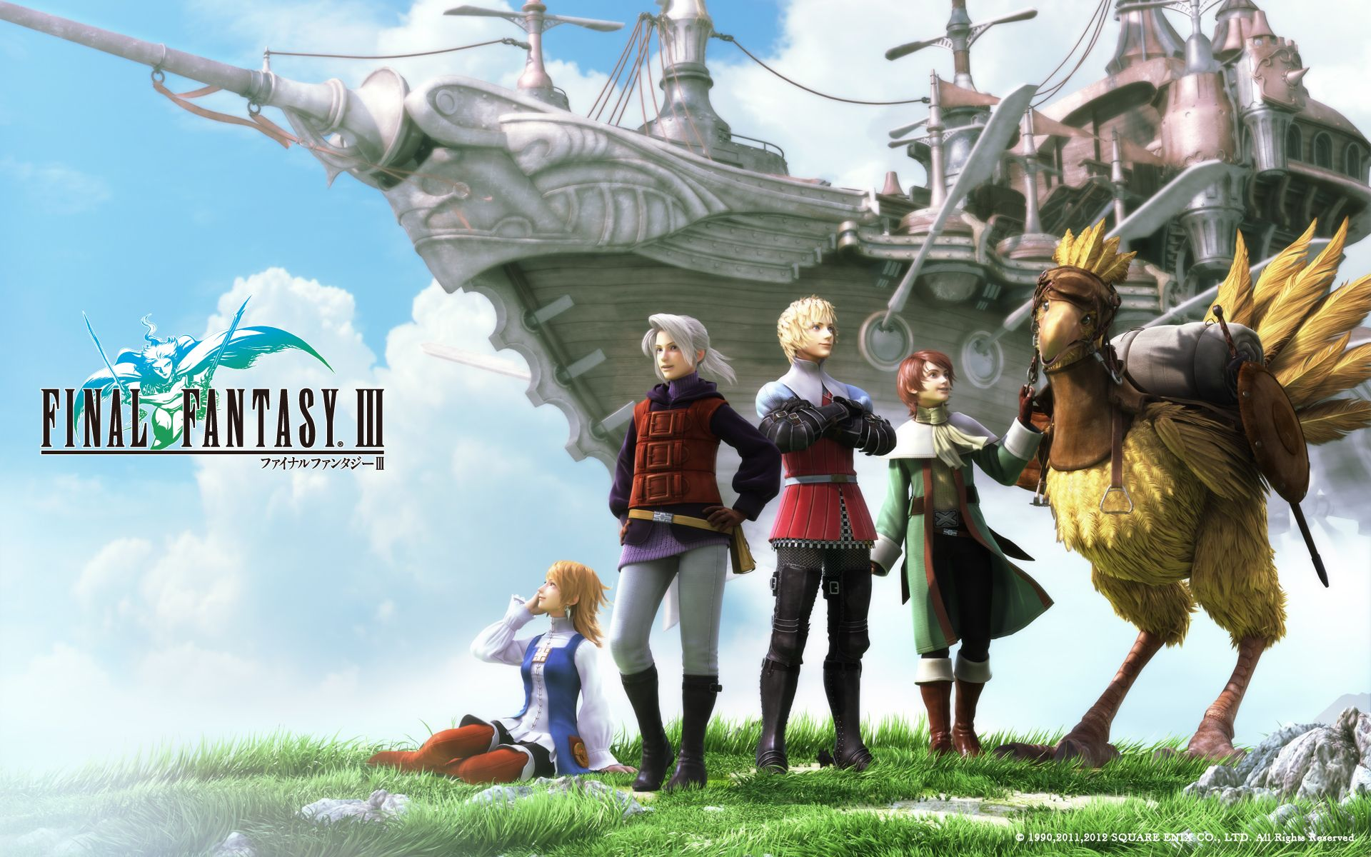 Final fantasy 3 to be released on steam according to square enix classic rpg