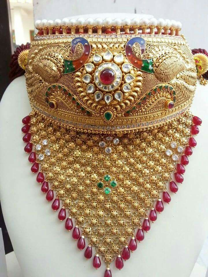 Royal bridal aad by Dulhan Jewellers Pali Call 9828283403