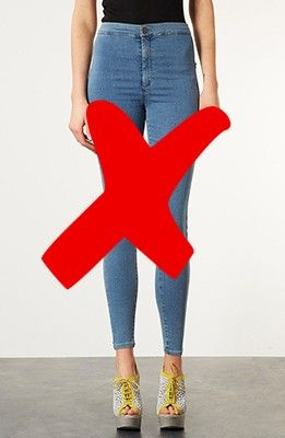 No high waisted jeans for tall girls. This makes me sad because I ...