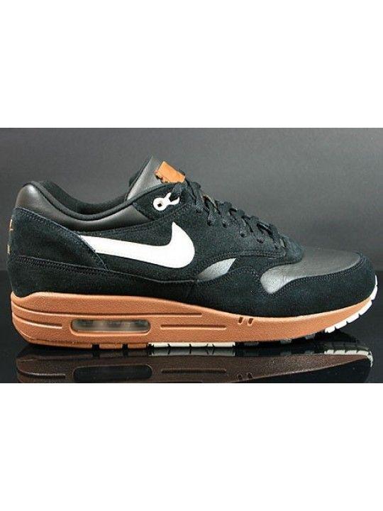 nouveaux styles a91b5 8e6f1 Nike Air Max 1 Premium Homme Noir Crème Brun {nNJQ8a} | Nike ...