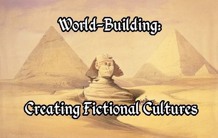 Especially if your story takes place on a fictional world, you'll need to create fictional cultures. J.S. Morin offers some things to consider.