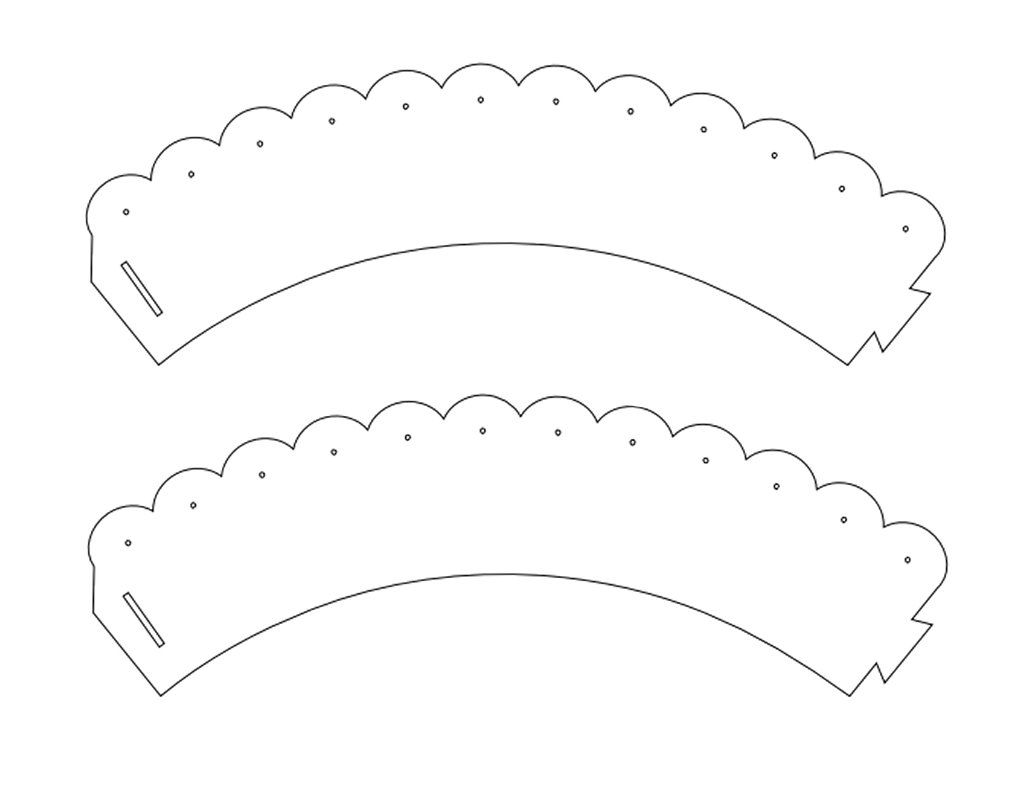 It's just a graphic of Free Printable Cupcake Wrappers regarding paper