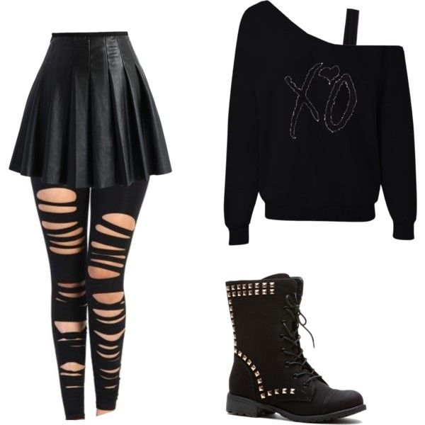 Fashmates Outfit Inspiration: Goth (1/2)