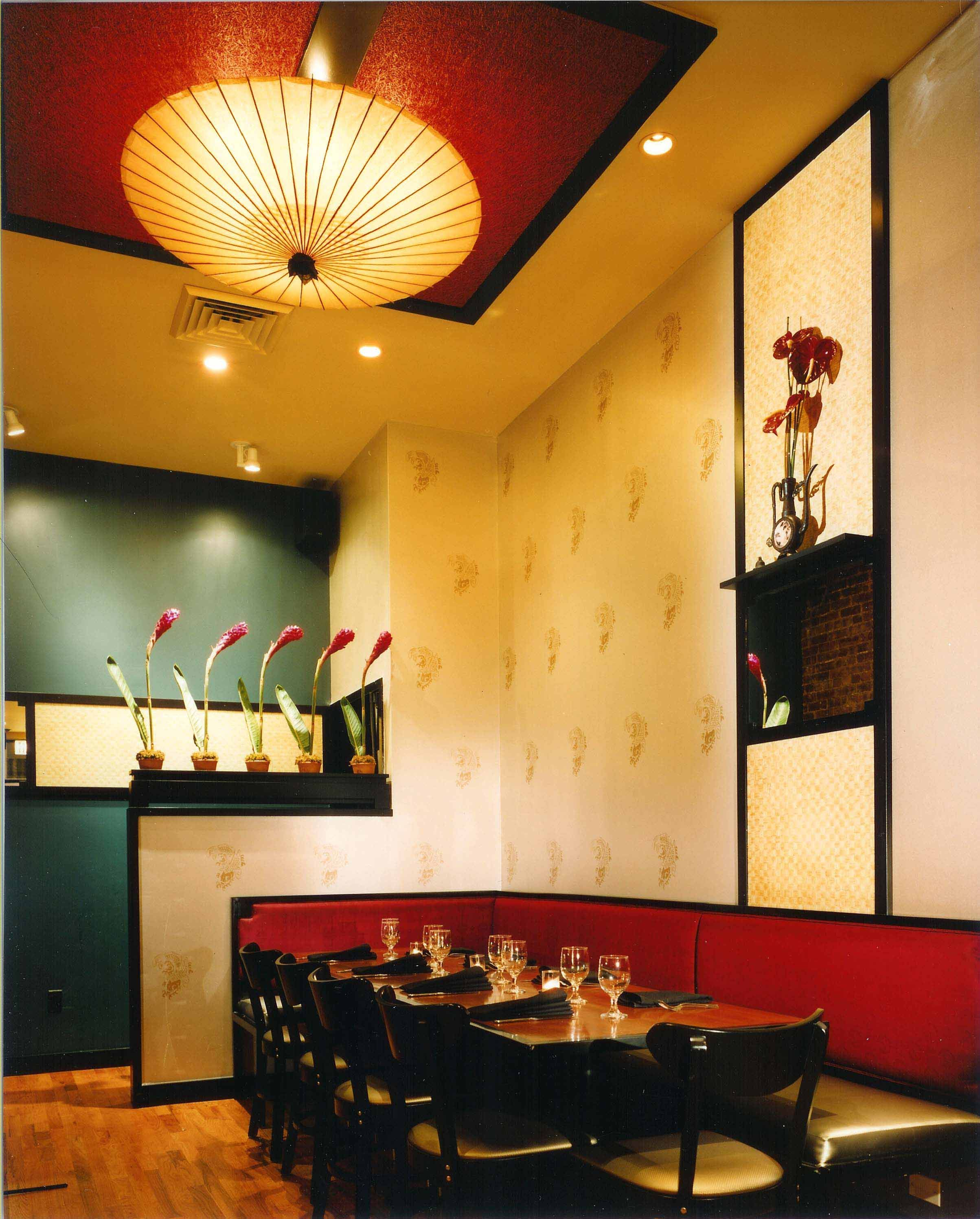 Tigerblossom Restaurant  Kelly Taylor Interior Design