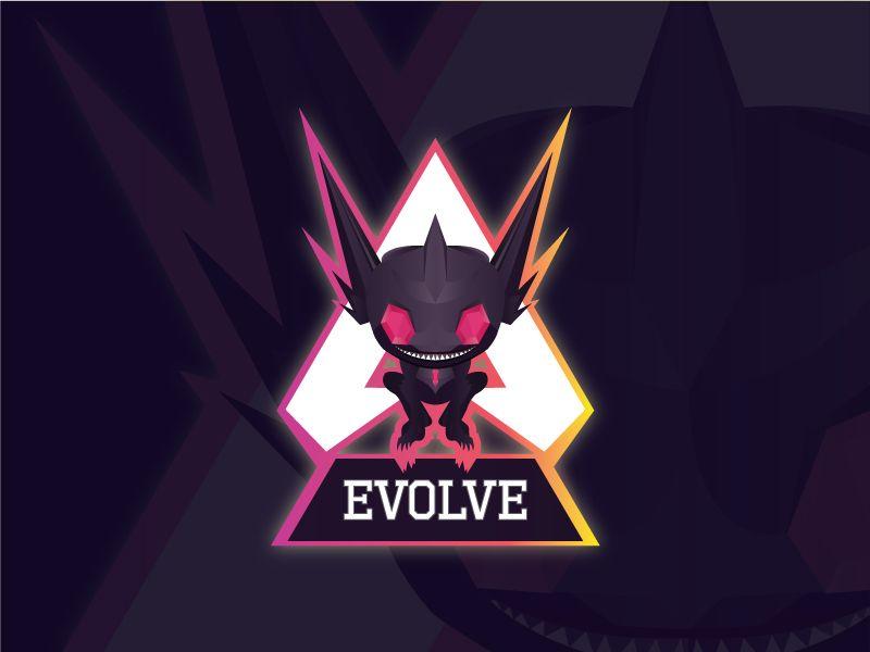 Evolve Mascot Logo For Youtube Channel Mascot Evolve Youtube