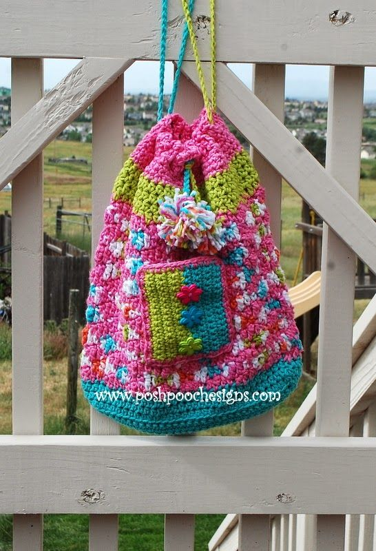 Posh Pooch Designs Dog Clothes: Sweet Treats Drawstring Beach Bag ...
