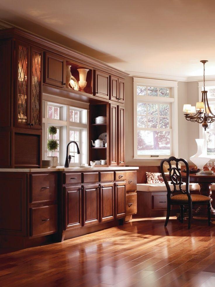 Braddock Alder Clove Kitchen By Thomasville Cabinetry Kitchens