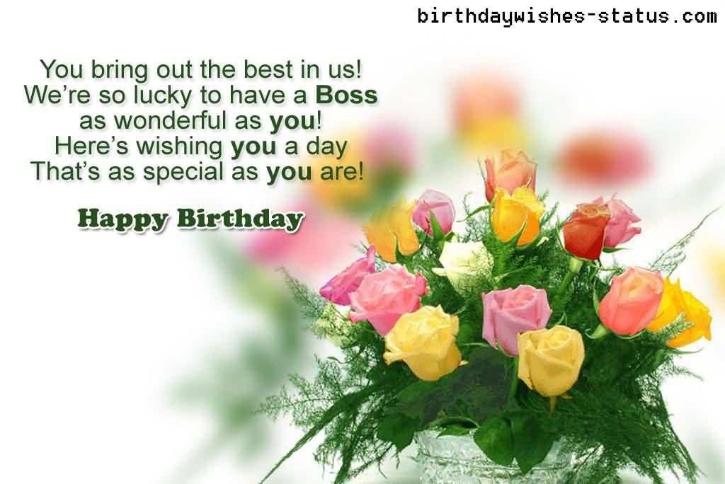 Happy Birthday Wishes For The Boss Birthdaywishes Quotes