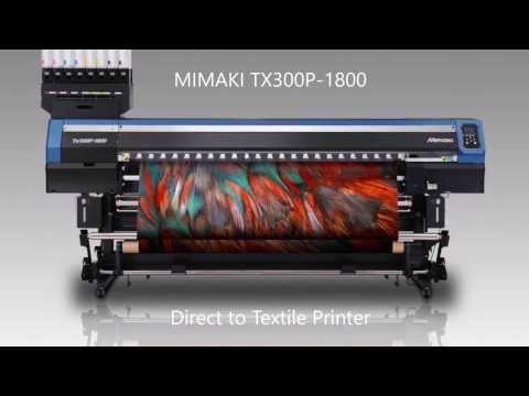 """Mimaki cria """"jato de tinta híbrido"""" para estampar digitalmente qualquer tecido - Stylo Urbano"""