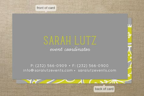 Top 14 essentials for a fierce young professional young pop paisley business cards by laura hankins colourmoves