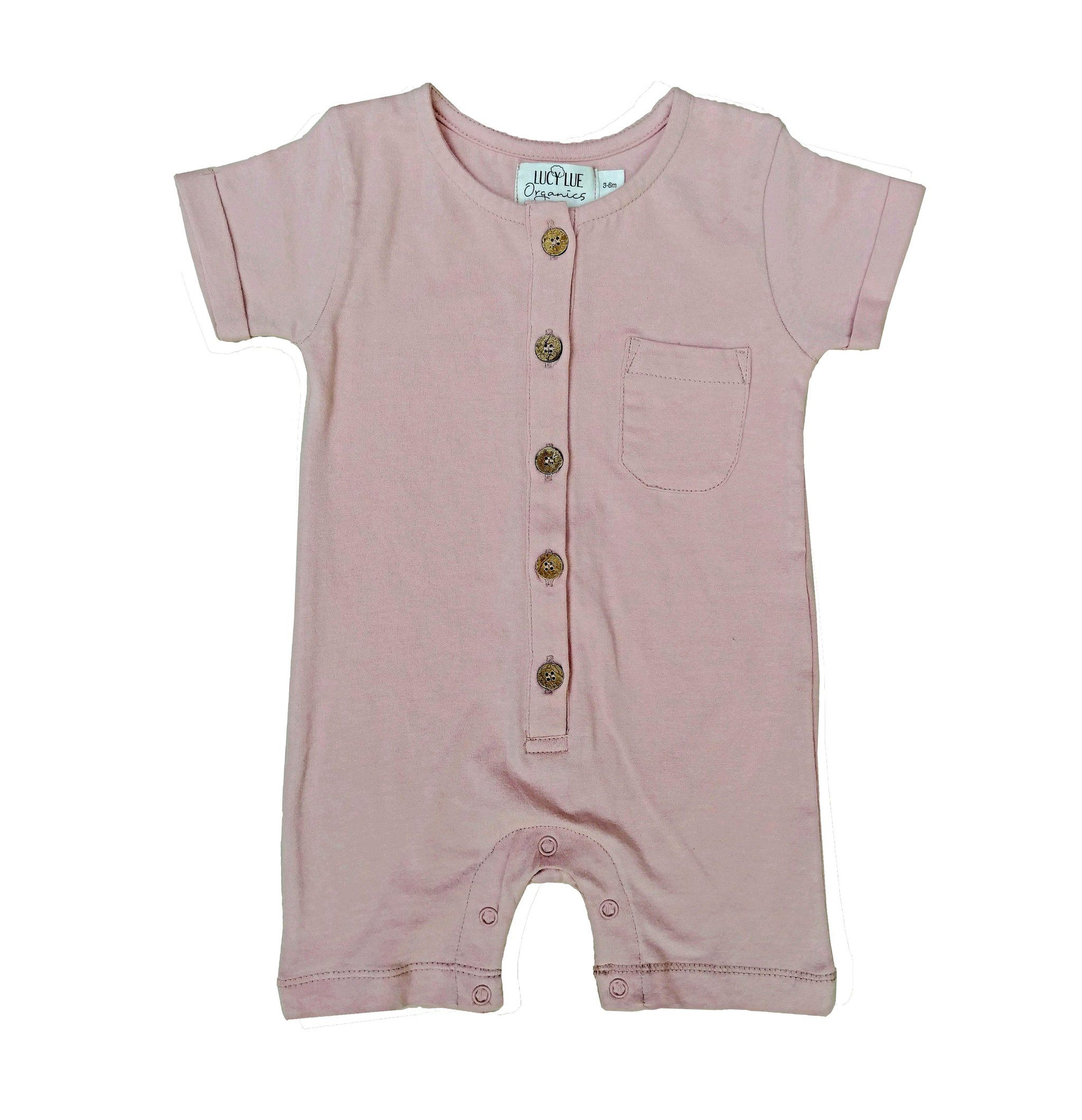 Coconut Cotton Unisex Baby//Toddler Key Romper