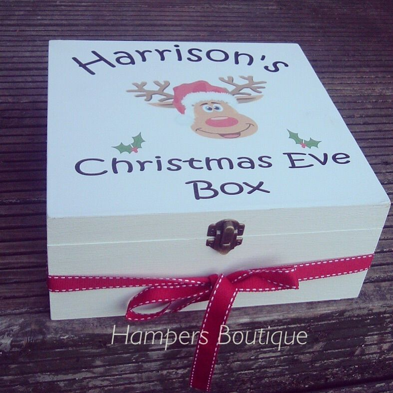 The night before christmas box - Google Search | Homemade X-mas ...