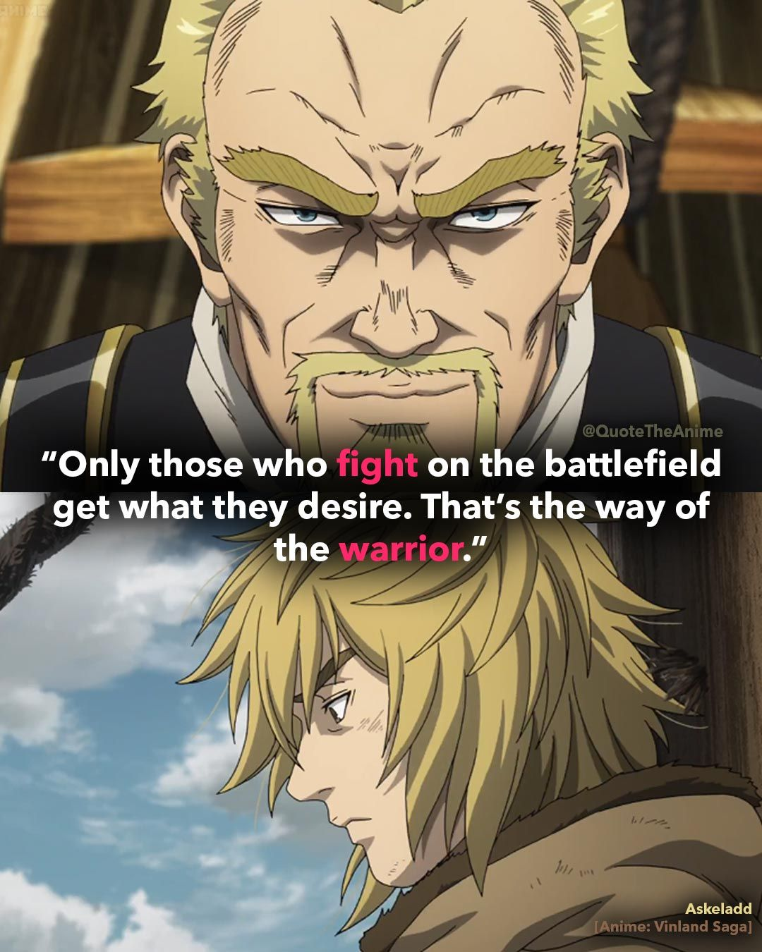 15+ Powerful Vinland Saga Quotes that are Savage (Images