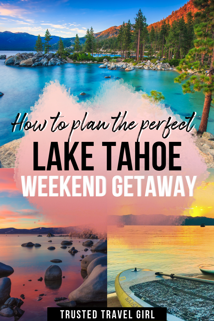Lake Tahoe is an amazing place to visit anytime of the year. Check out my Lake Tahoe travel guide for what not to miss during a Tahoe weekend getaway.   What to do in Lake Tahoe   Lake Tahoe Weekend   Lake Tahoe activities  