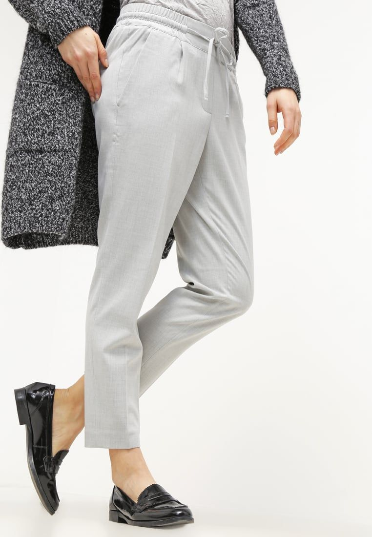 damen hosen opus melosa - stoffhose - sensible grey,opus