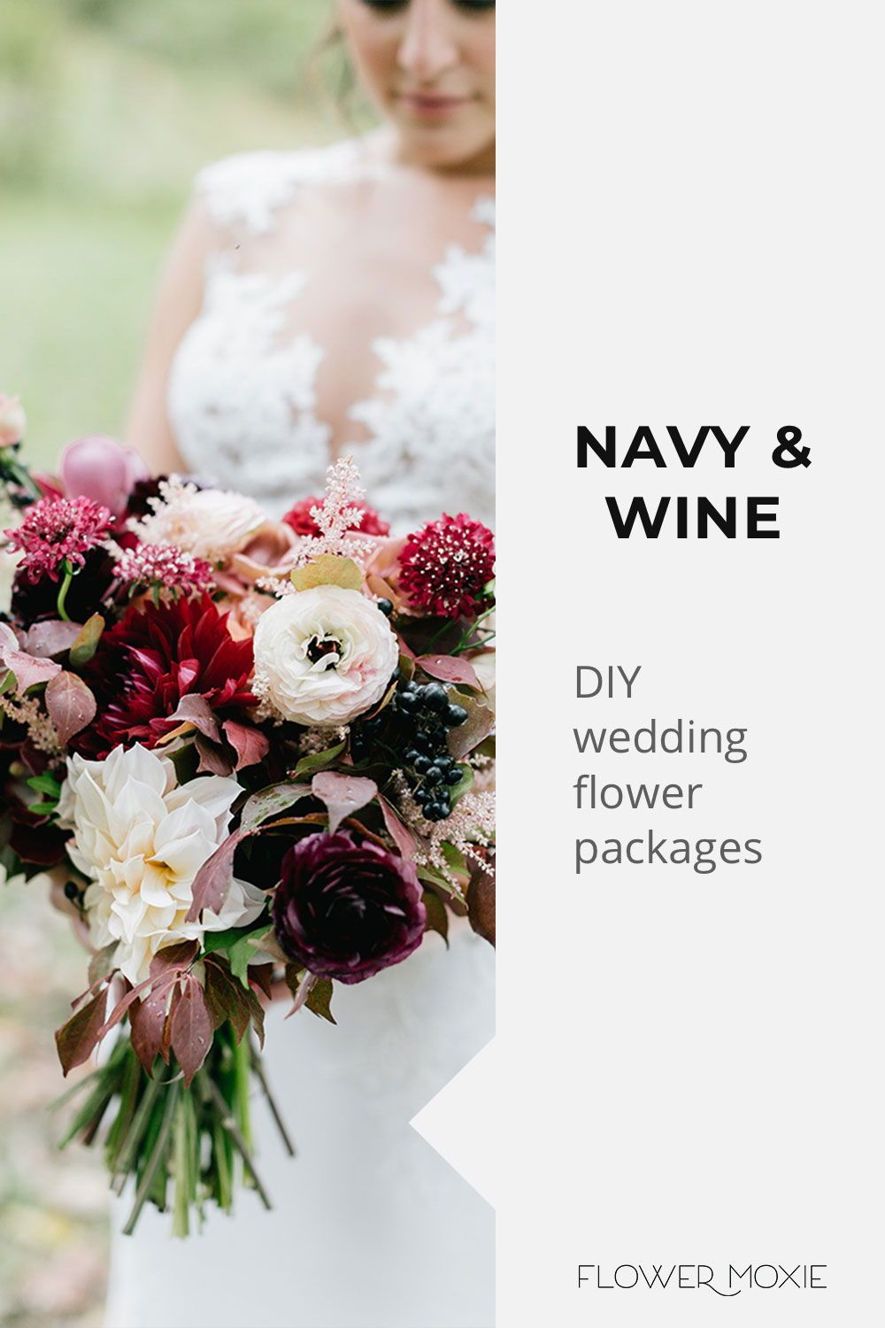Get Inspired By Our Wedding Flower Packages Mix Match Flowers To Achieve The Look You Wa Bulk Wedding Flowers Diy Bridesmaid Bouquet Wedding Flower Packages