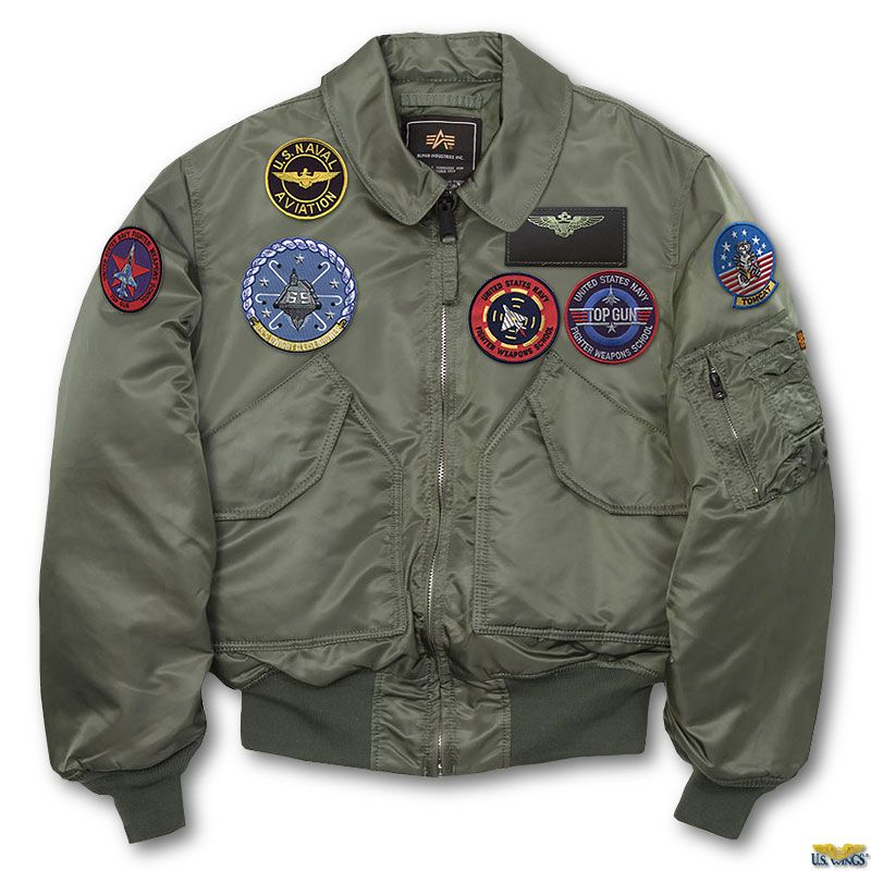 ed8063c4056 The Top Gun CWU-45P jacket is only at US Wings!