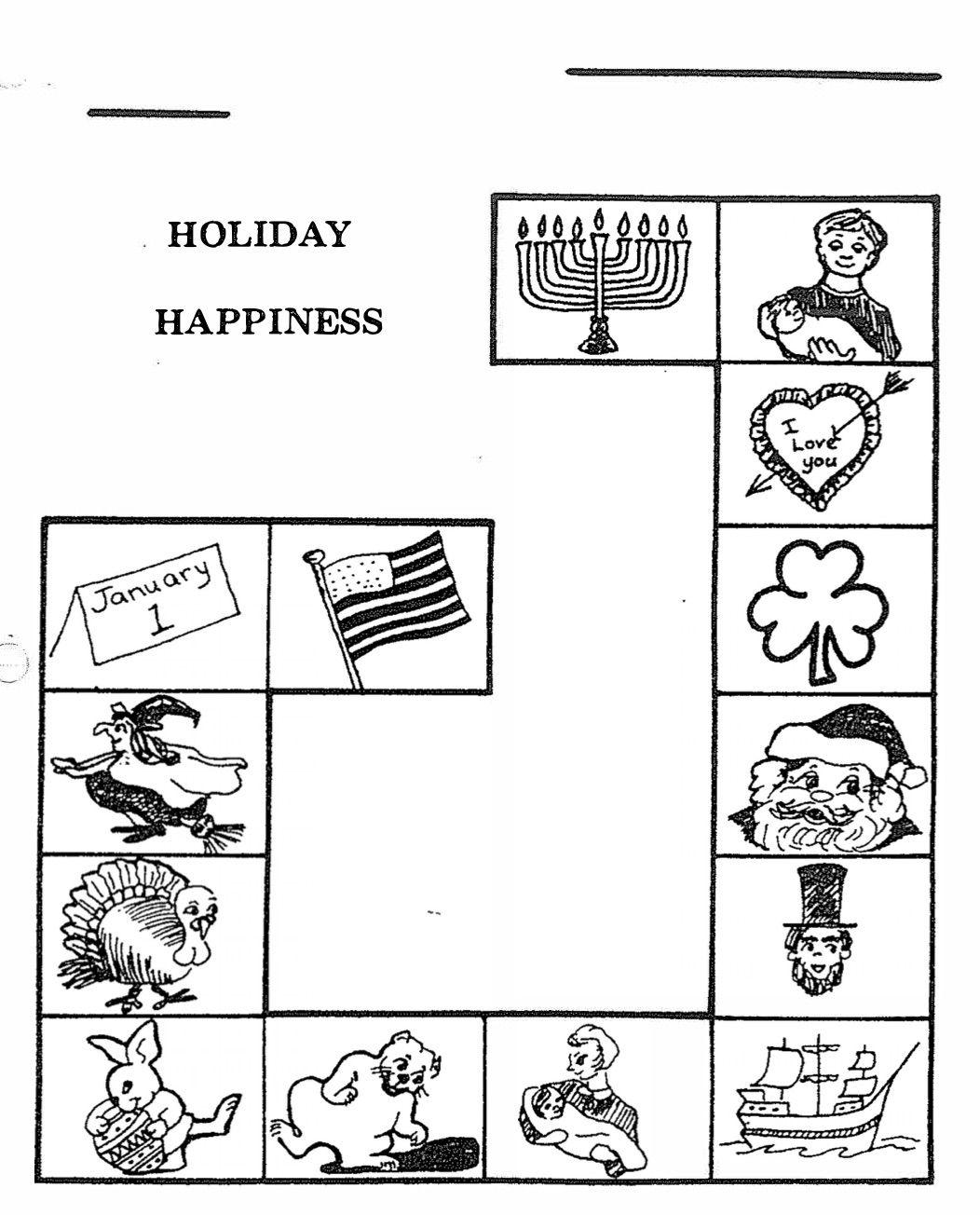 Listening Skills Holiday Happiness Page 2