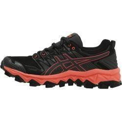 Photo of Asics Damen Trailrunning-Schuhe Gel Fuji Trabuco 7 Gtx, Größe 38 in Grau/Schwarz/Rot, Größe 38 in Gr