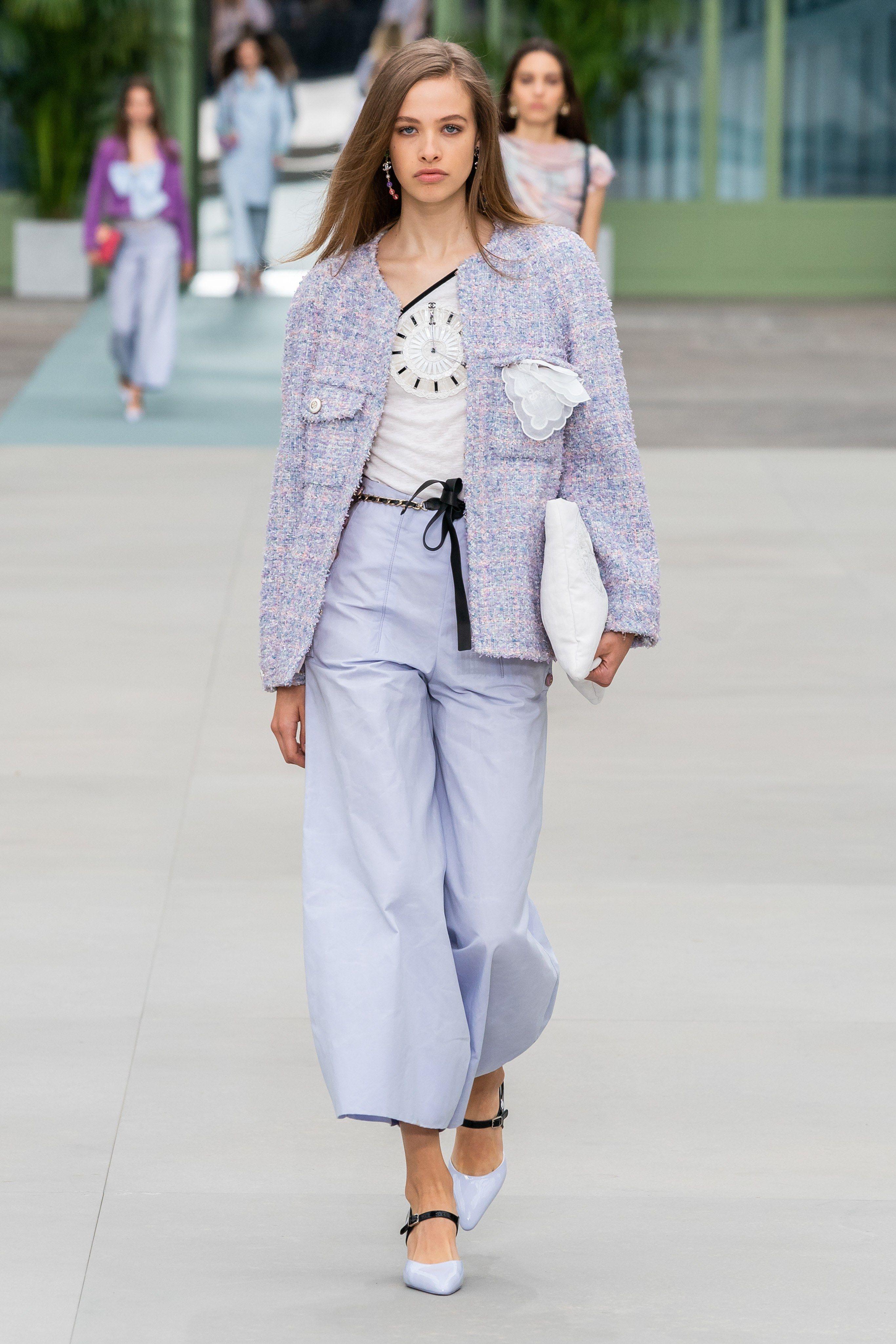Chanel Resort 2020 Fashion Show in 2020 Chanel fashion