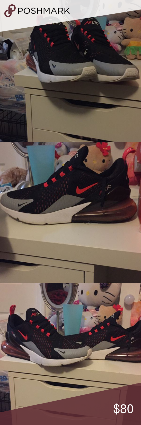 more photos a7564 9294a Nike air max 270 Selling Nike airmax 270 normal wear size 11 but run small  I m a 10.5 Nike Shoes Sneakers
