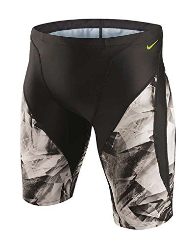 1ee532d1c1 Nike Swim NESS5006 Mens Kaleidotech Jammer Black22 *** Details on product  can be viewed by clicking the image