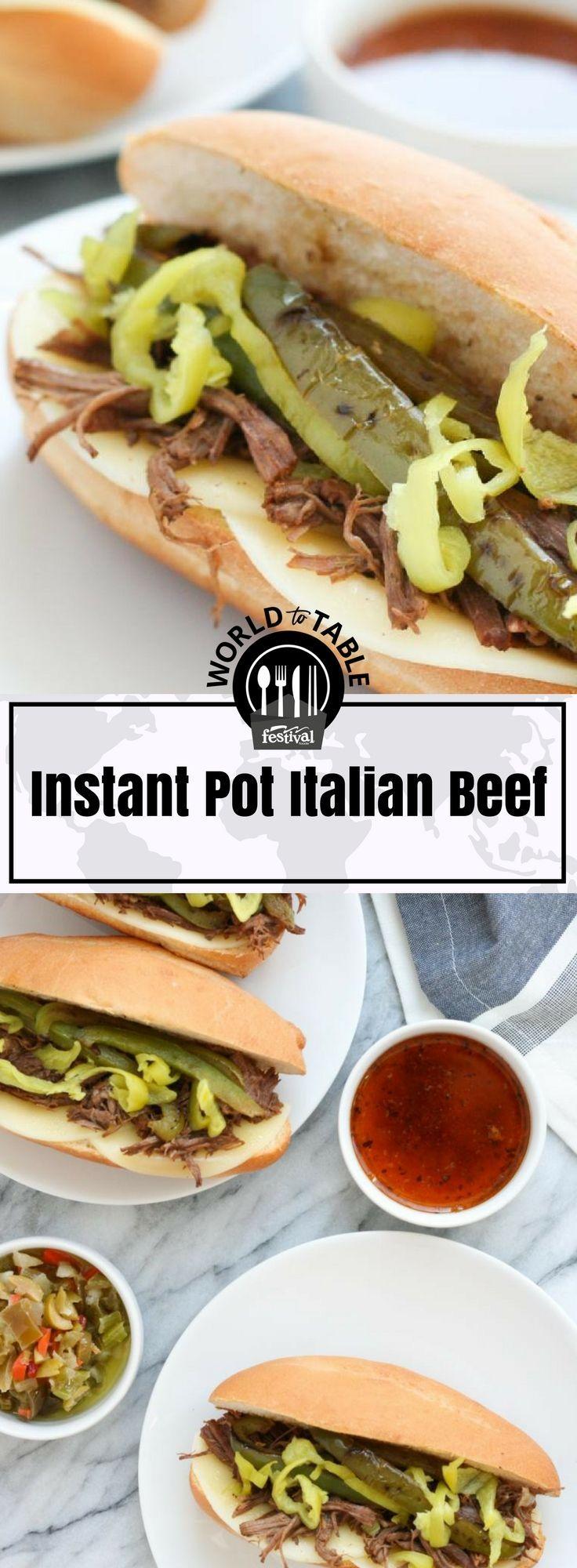 Instant Pot Italian Beef Sandwiches Recipe Italian