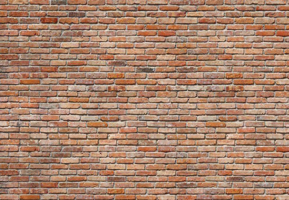 Fototapete BACKSTEINE 368×254 modern Mauer Ziegel Wand rote Backstein Steinwand Ziegelwände