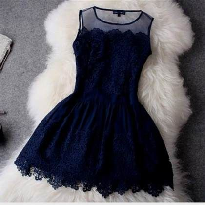 Dark Blue Dress Tumblr