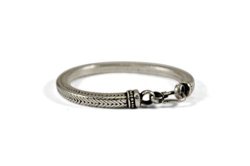 Silver Cuff Bracelet for Women Indian Jewelry India Silver
