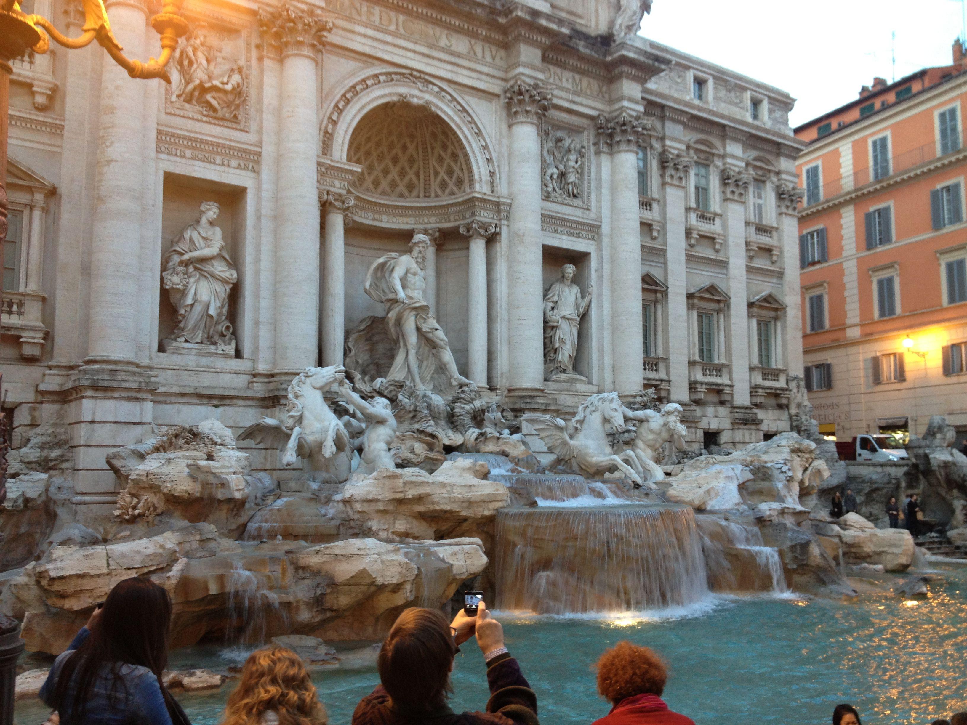 Rome - Trevi Fountain.