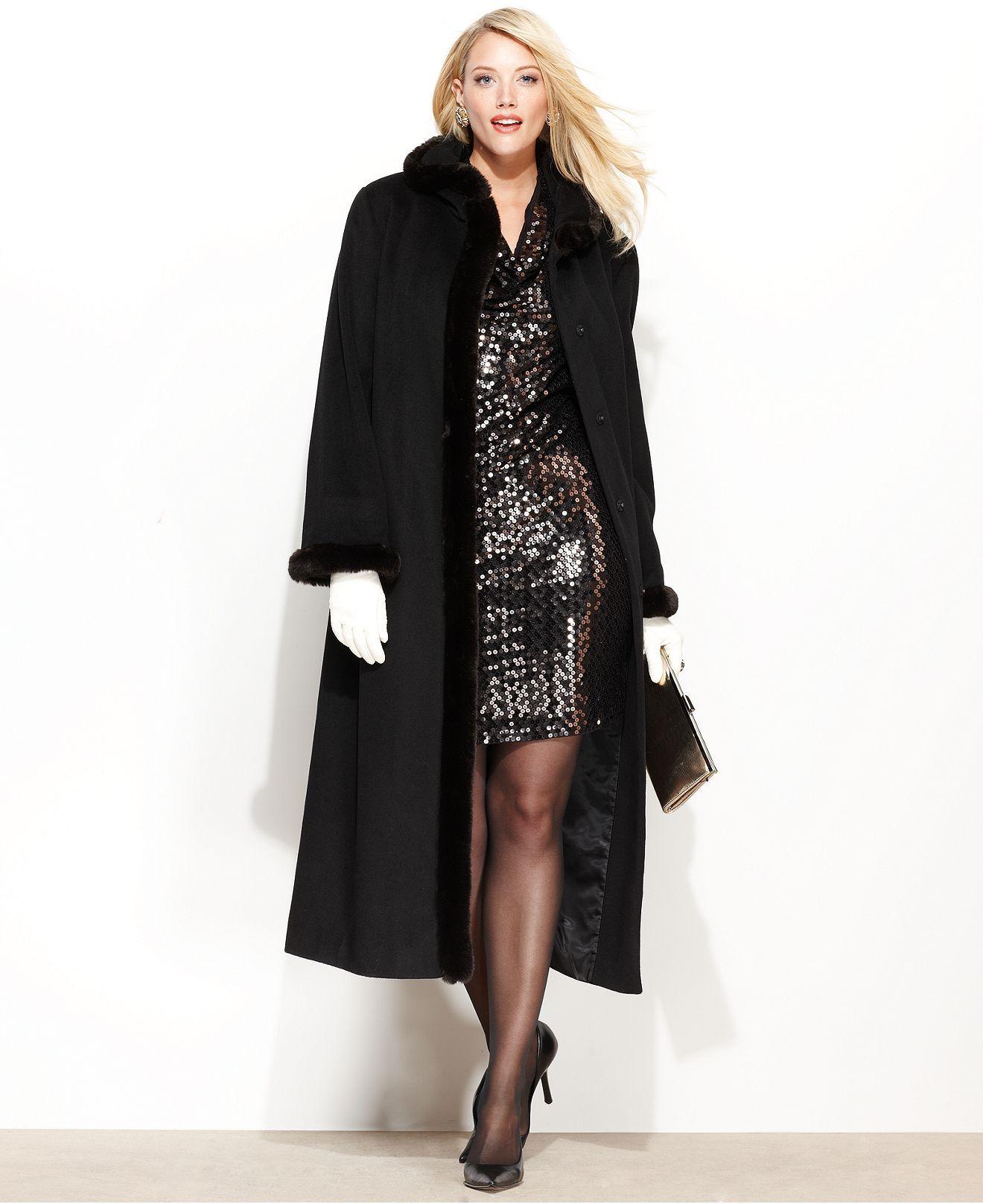 bc7005b4ee1 Ellen Tracy Plus Coat