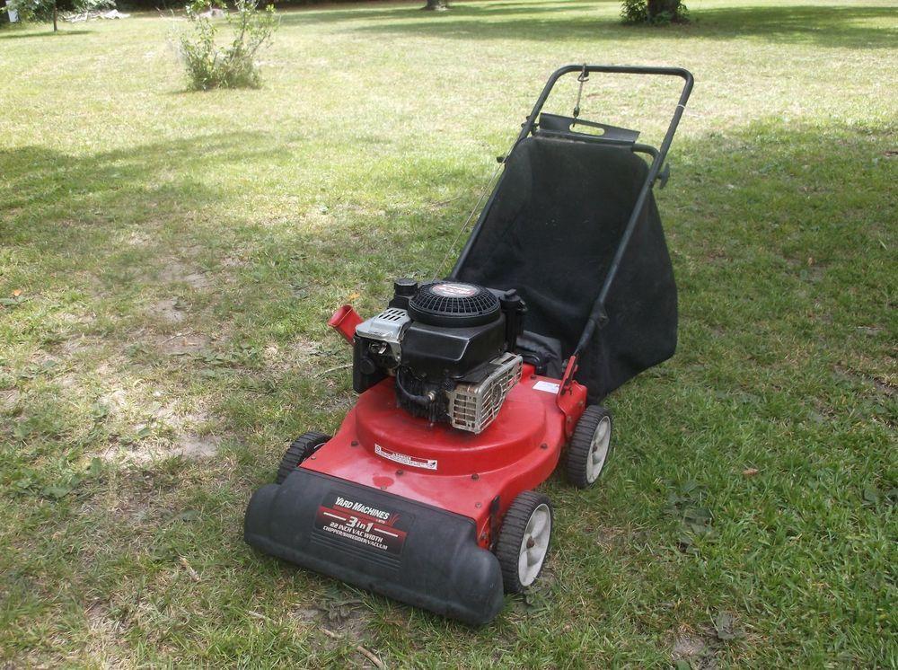 Yard Machine Chipper Shredder Vacuum 4 Hp Briggs And Stratton