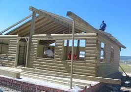 Resultado de imagen de casas troncos madera