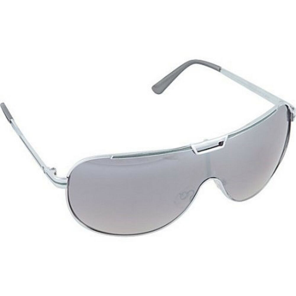 3330665e61 SouthPole Men s 901SP-SLVGY Metal Shield Sunglasses Silver Gray  Southpole   Shield