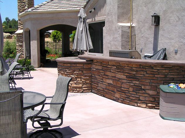 San Diego Landcare Systems Outdoor Kitchen 11 Seating Area Outdoor Kitchen