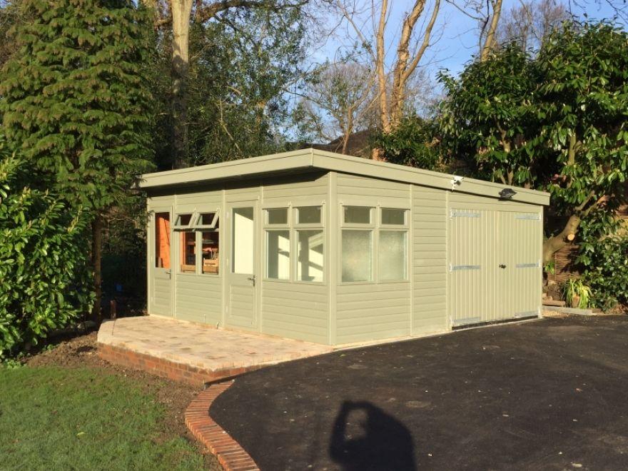 workshops, sheds and garages - bakers timber buildings   summer