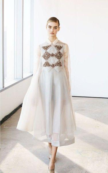 Traumhaft schönes Fesignerkleid von DELPOZO Fall/Winter 2014//  Gorgeous Dress! #style
