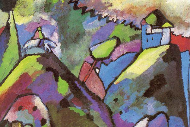 Kandinsky Et Le Cavalier Bleu Kandinsky