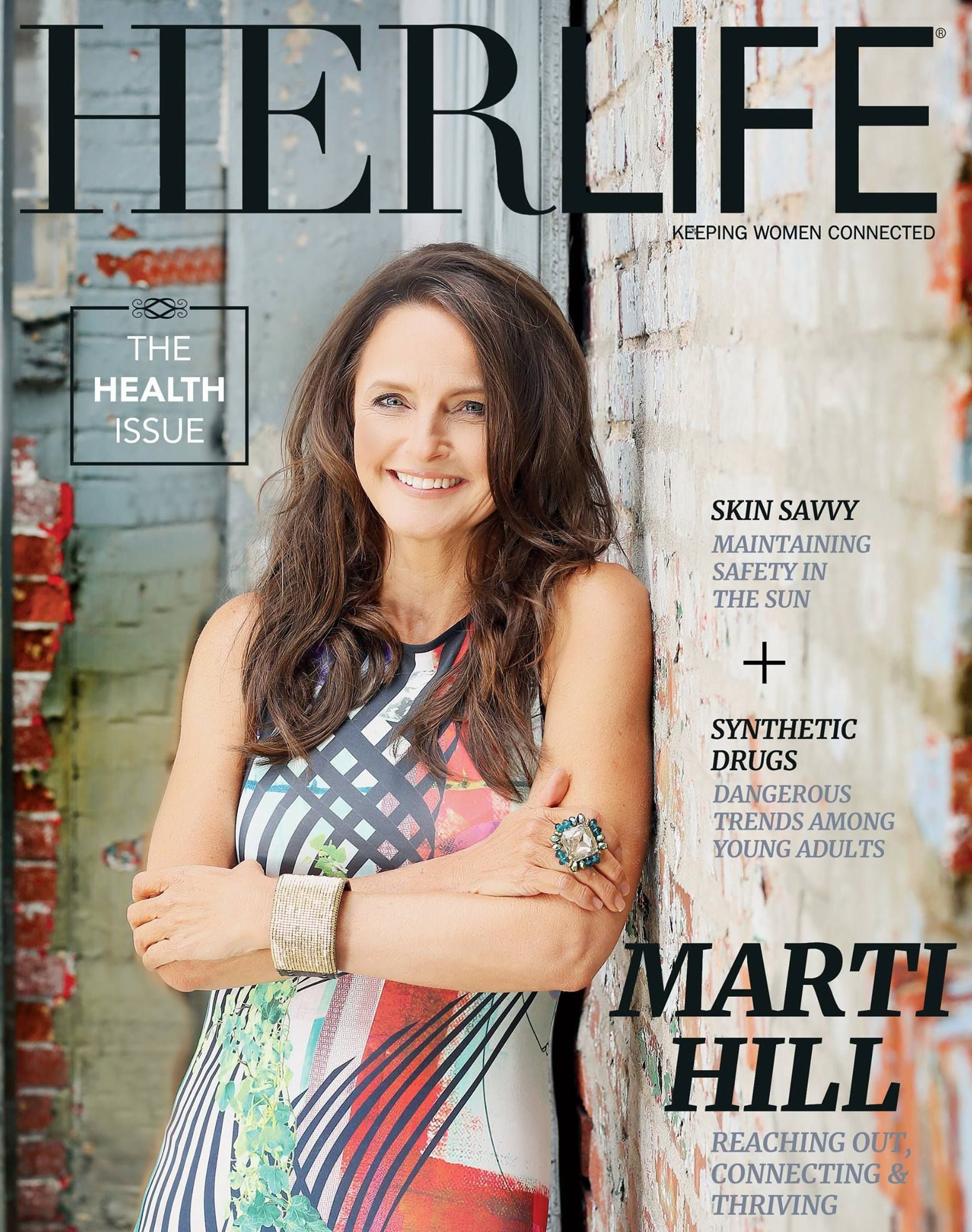 July 2014 The Health Issue featuring Marti Hill Women