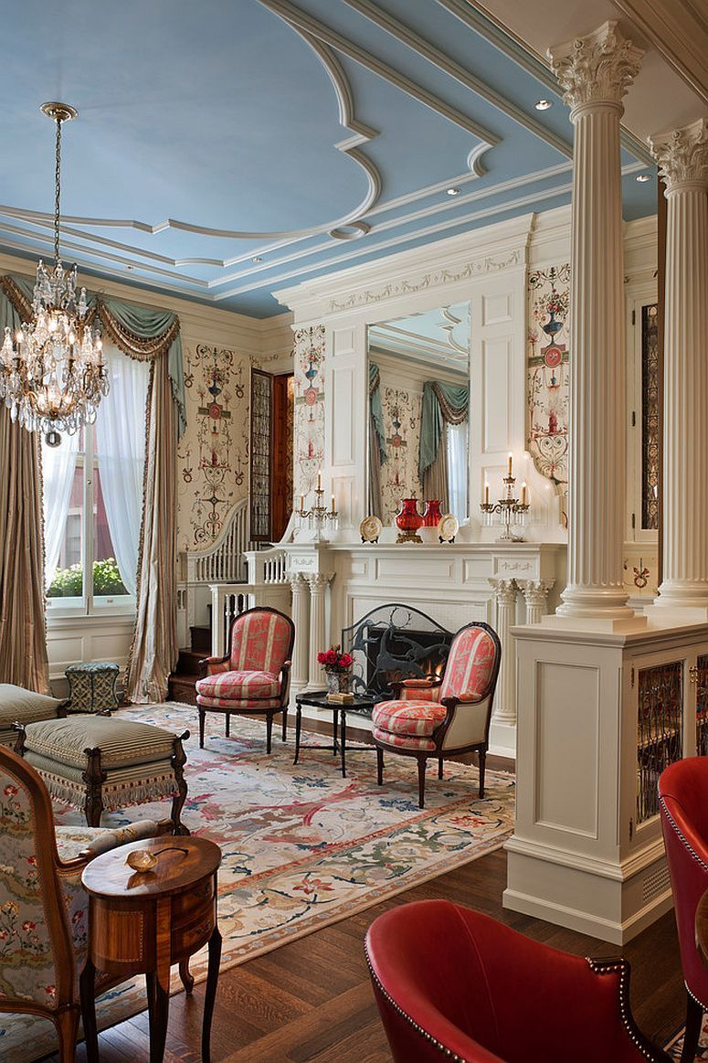 Feast for the Senses: 5 Vivacious Victorian Living Rooms