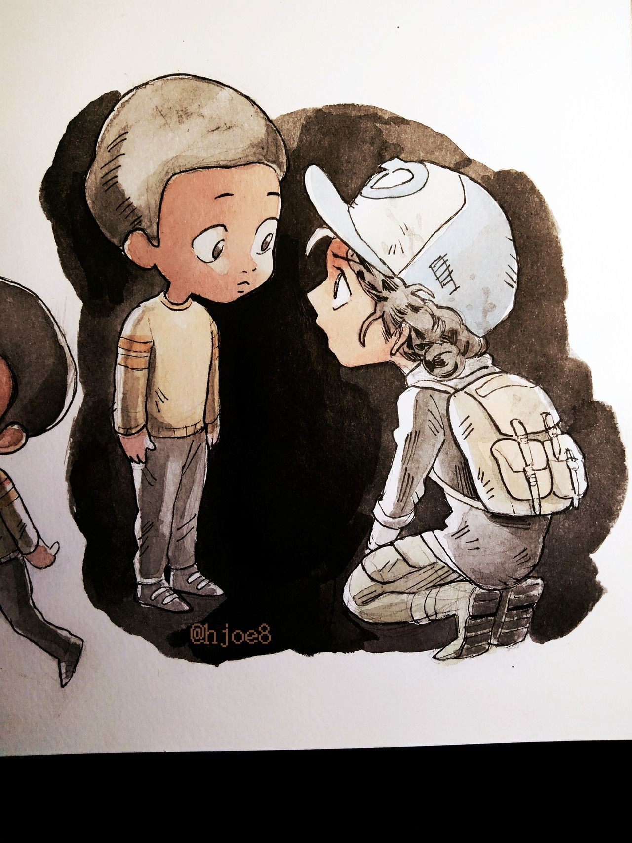I Love Baby Aj And Clem They R Both Too Precious For The Zombie Apocalypse Walking Dead Game The Walking Dead Telltale The Walking Dead
